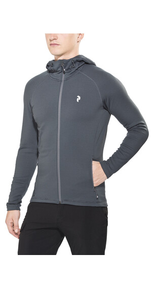 Peak Performance Waitara Hood Sweatshirt Men Grey Sky